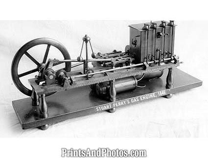 1846 FIRST GAS ENGINE  0964
