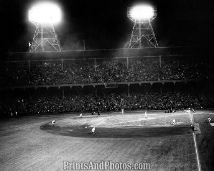 DODGERS Ebbets Field 1st Nite Game 0969