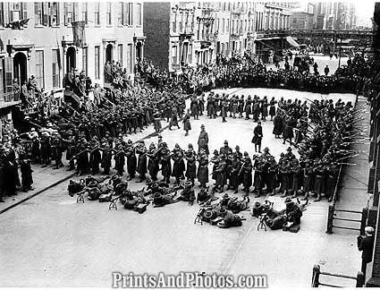 1918 ARMY Coast Artillery NYC  0971