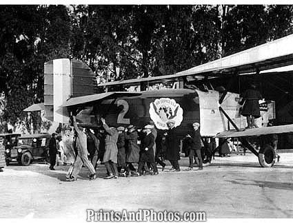 1st World Flight Douglas Bi-Plane  0996