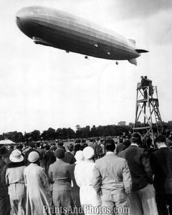 GRAF Zeppelin Makes World Circuit  1009