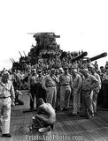 WWII Japan Prisoner on Battleship NJ  1015