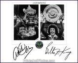 WIMBLEDON Tennis ASHE & KING  1044