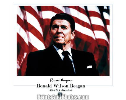 RONALD REAGAN Signature  1056