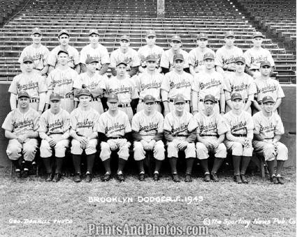 1943 BROOKLYN DODGERS Team  1066 - Prints and Photos