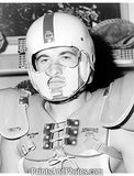 50s Football Helmet Pat Oleksiak  1112