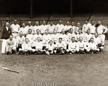26 YANKEES Team  w/ RUTH 1116