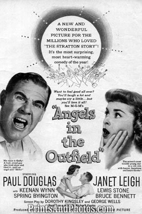 Angel in the Outfield JANET LEIGH Print 1124