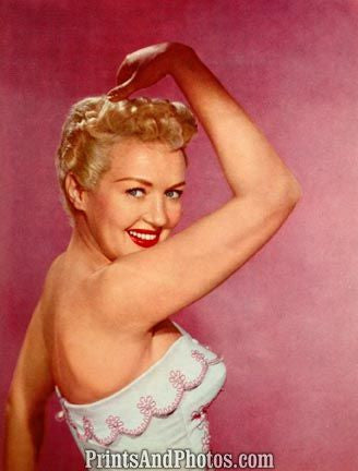 BETTY GRABLE Sexy  50s Pinup 1127