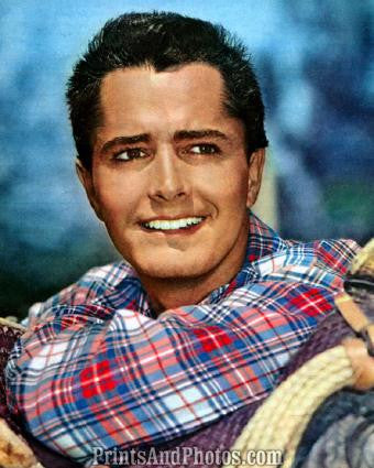 Actor JOHN DEREK Great 50s  1135