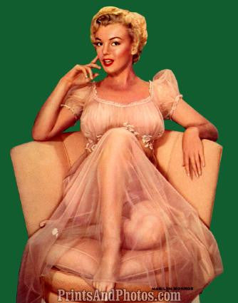MARILYN MONROE Sexy 50s Pinup 1140