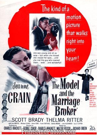 JEANNE CRAIN Model & Marriage Broker 1148