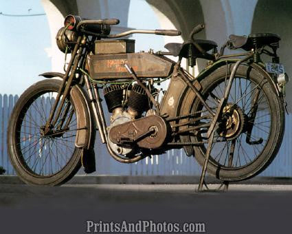 1913 9E HARLEY DAVIDSON  1170 - Prints and Photos