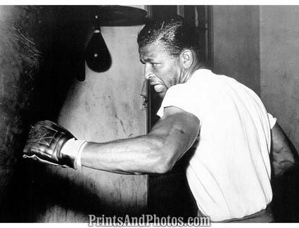 Boxer RAY ROBINSON Heavy Bag  1187