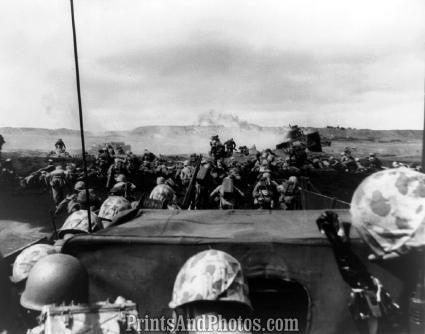 WWII 4th Div Marines ATTACK  1198