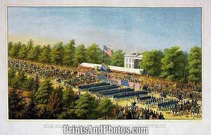 CIVIL WAR Grand Review Washington PRINT 1227