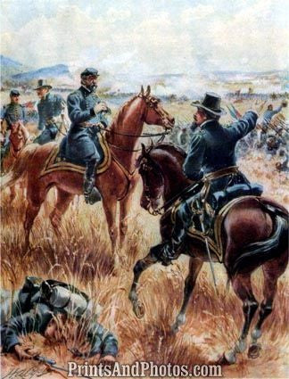 CIVIL WAR Meade at Gettysburg Ogden 1267