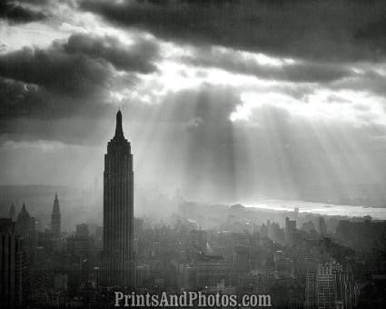 NYC Empire State Building  1286