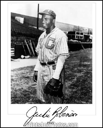 Negro League Monarchs JACKIE ROBINSON 1291