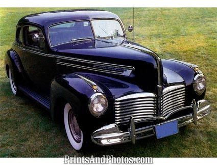 1941 HUDSON Collector Car  1357 - Prints and Photos