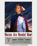 WWII War NURSES ARE NEEDED NOW 1372