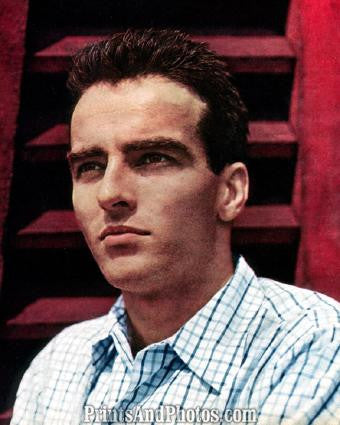 Hollywood Star MONTGOMERY CLIFT  1387