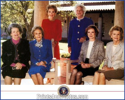 FIRST LADIES Color  Nixon LBJ More 1392