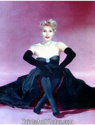 ZSA ZSA GABOR 50s PINUP 1394