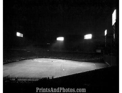 Red Sox FENWAY PARK 1950 Night  1431