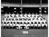 NEW YORK YANKEES 1958 Team  1473