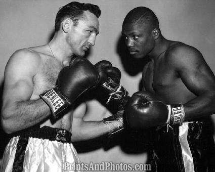BASILIO vs Saxton 1956 Boxing  1566
