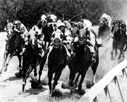 Horse Racing BELMONT Long Island  1591