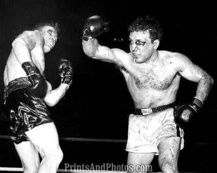 Boxing LAMOTTA vs Dauthuille 1949  1598