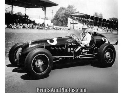 INDY Racer SAM HANKS 1953  1634