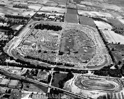 INDIANAPOLIS 500 Speedway AERIAL 1641