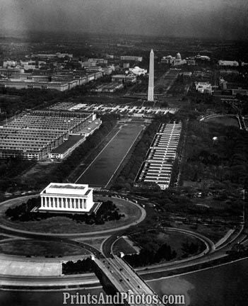 AERIAL  of Washington DC 1661