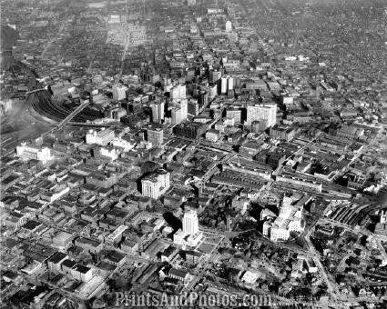 City of ATLANTA AERIAL  1687