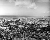 CITY Honolulu HI 50s AERIAL  1708