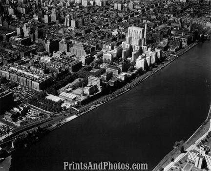 New York City East River Aerial 1731