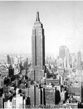 City of NY EMPIRE STATE Building Aerial 1732