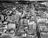 City of Peoria IL 1950s AERIAL  1742