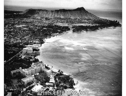 CITY Waikiki HAWAII Beach  1764