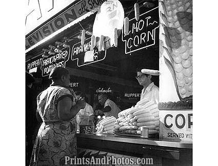 Coney Island Hot Dog Stand  1766