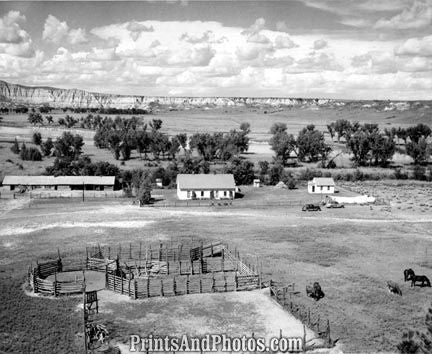 North Dakota Logging Ranch 50s  1797