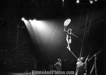 Ringling Circus Tight Rope  18260