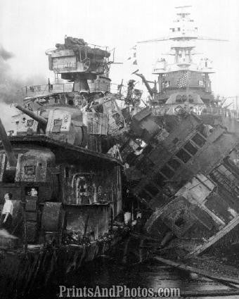 WWII Pearl Harbor Wreckage  18870