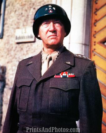 WW II General GEORGE S PATTON  18900