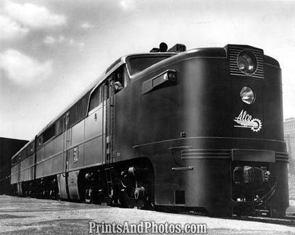 American Locomotive Co 6000 HP Train 18960