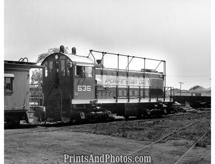 Atlantic Coast Line 1000 HP Train  18970