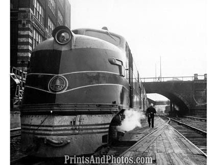 B&O RAILROAD Train Philadelphia 19030